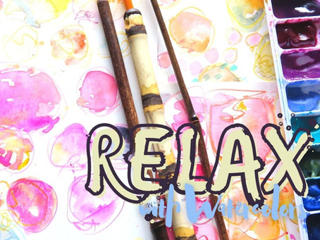 Relaxing With Watercolors