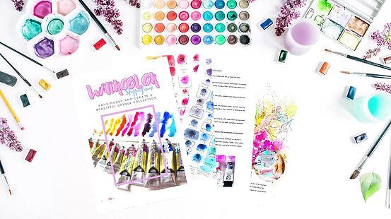 Watercolor Shopping Guide