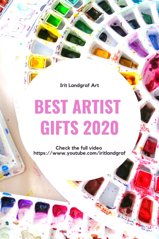 best watercolor artist gifts vegan