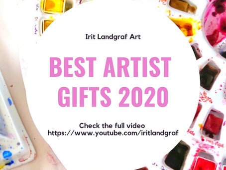 2020 Gift Guide- Best Artist Gifts