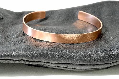 Bracelet cuivre bi texture