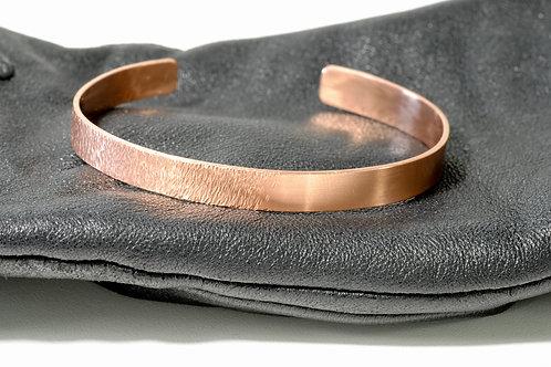 Bracelet cuivre bi texture 2