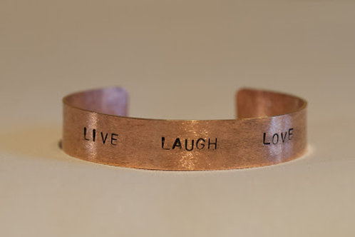 Bracelet message personnalisable