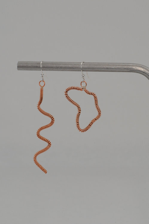 Boucles asymétriques tortillon/Afrique