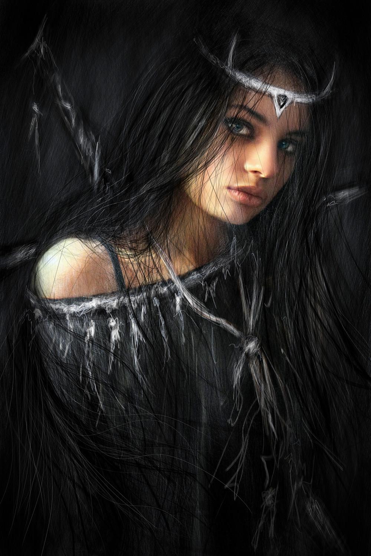 Medieval Gothic Fantasy Portrait