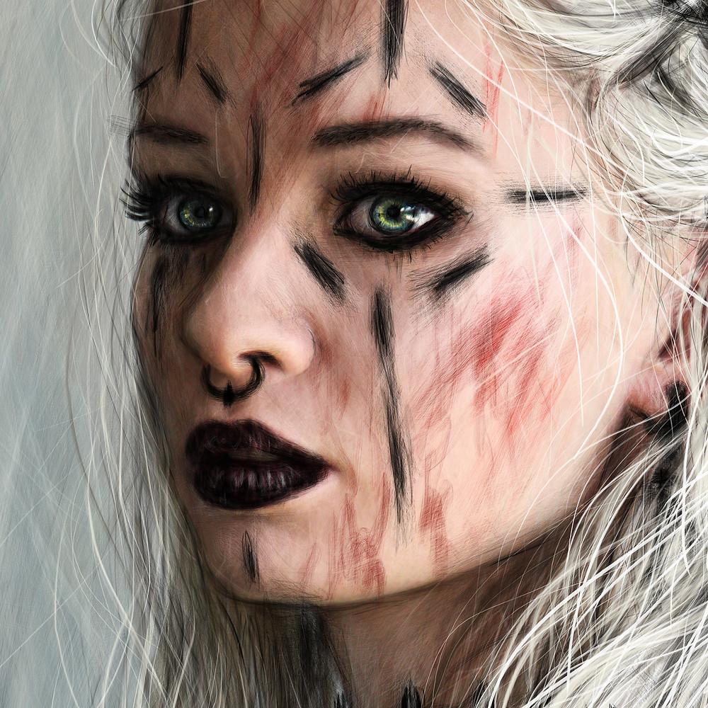Alternative gothic girl