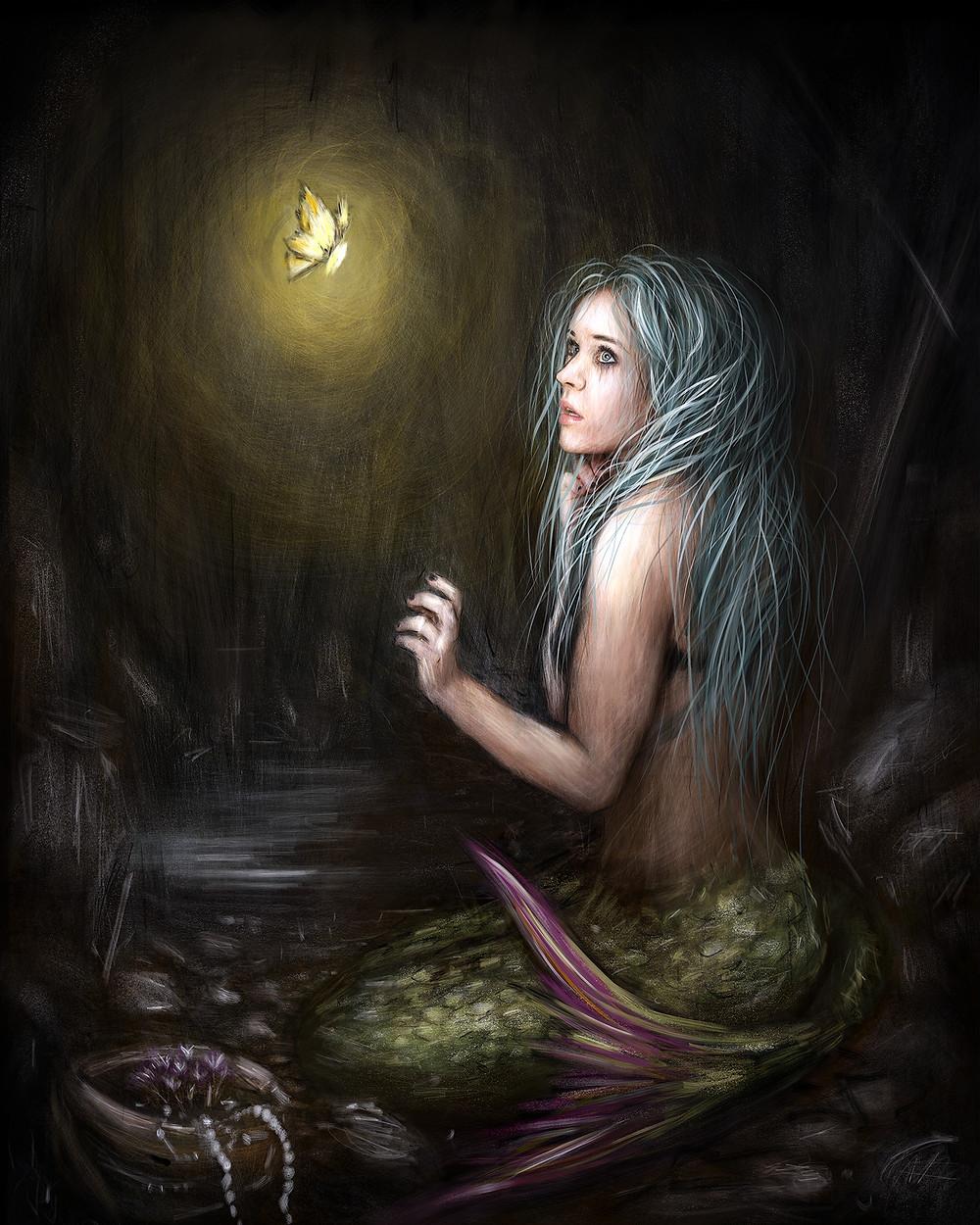 Mermaid in the Dark by Justin Gedak