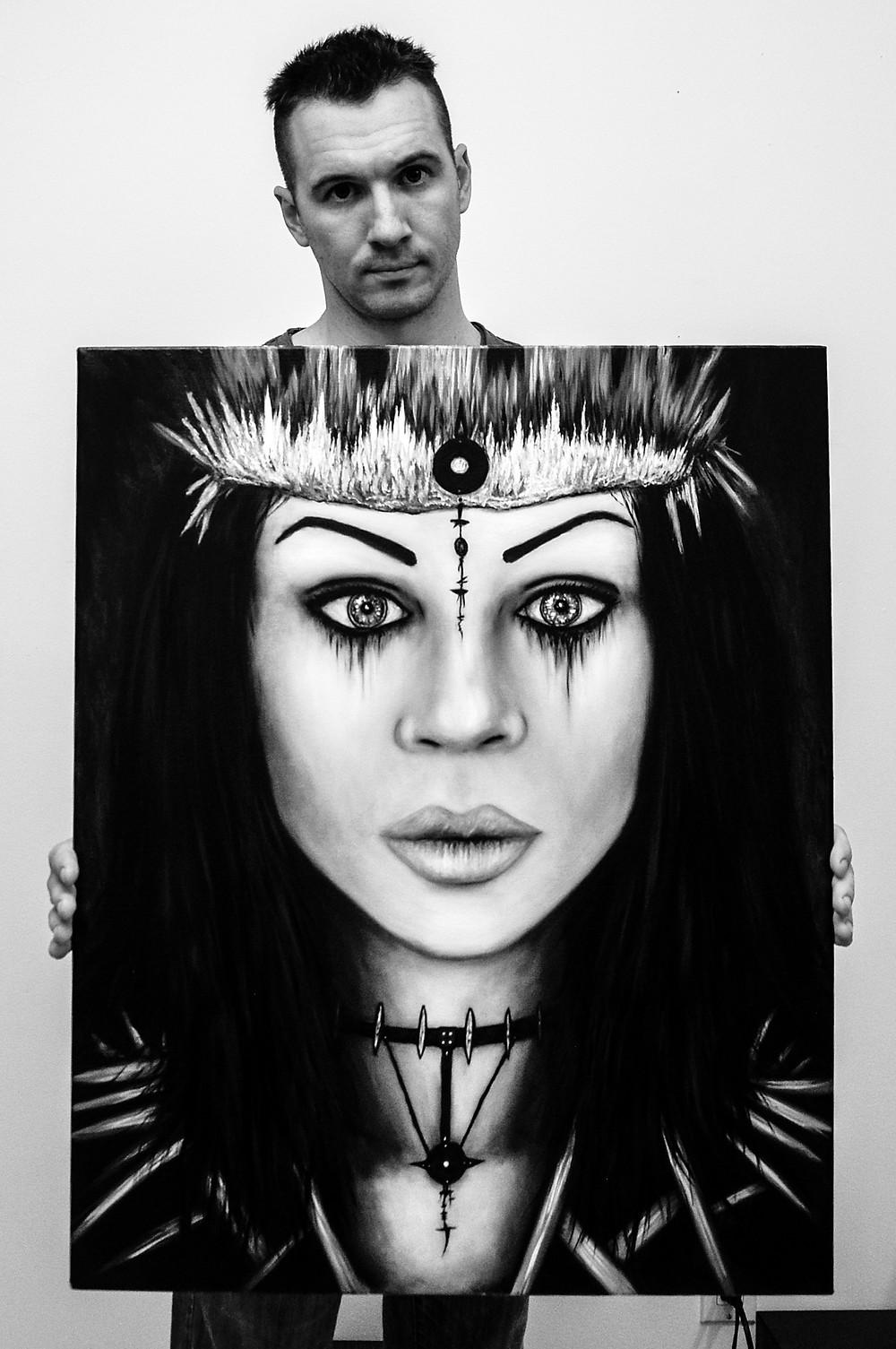 Justin Gedak Artist