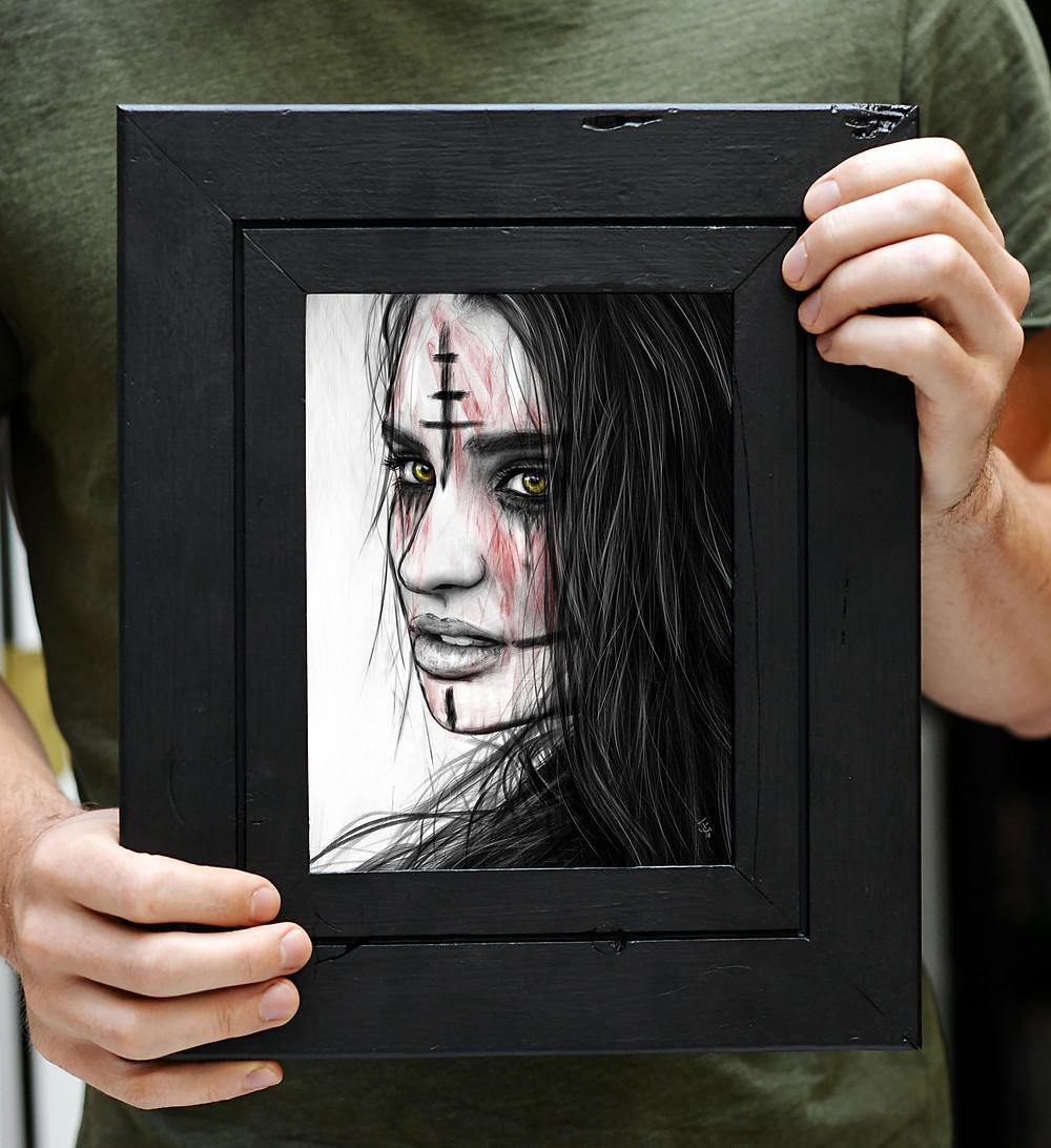 Surreal Fantasy Digital Artwork by Justin Gedak