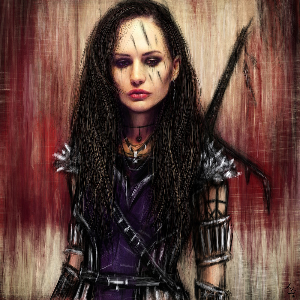 Justin Gedak Gothic Fantasy Artwork