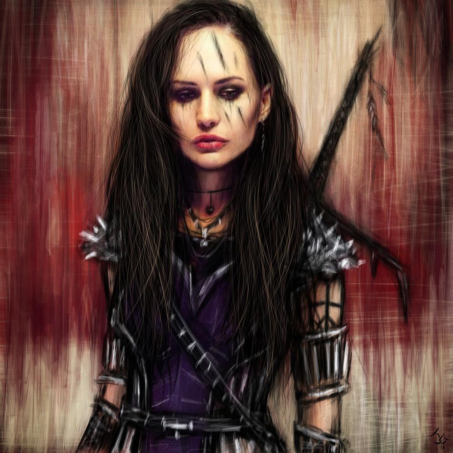 Seeking Carnage: Gothic Fantasy Artwork