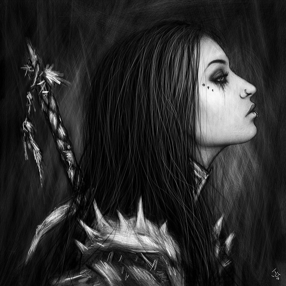 Gothic Portrait by Justin Gedak