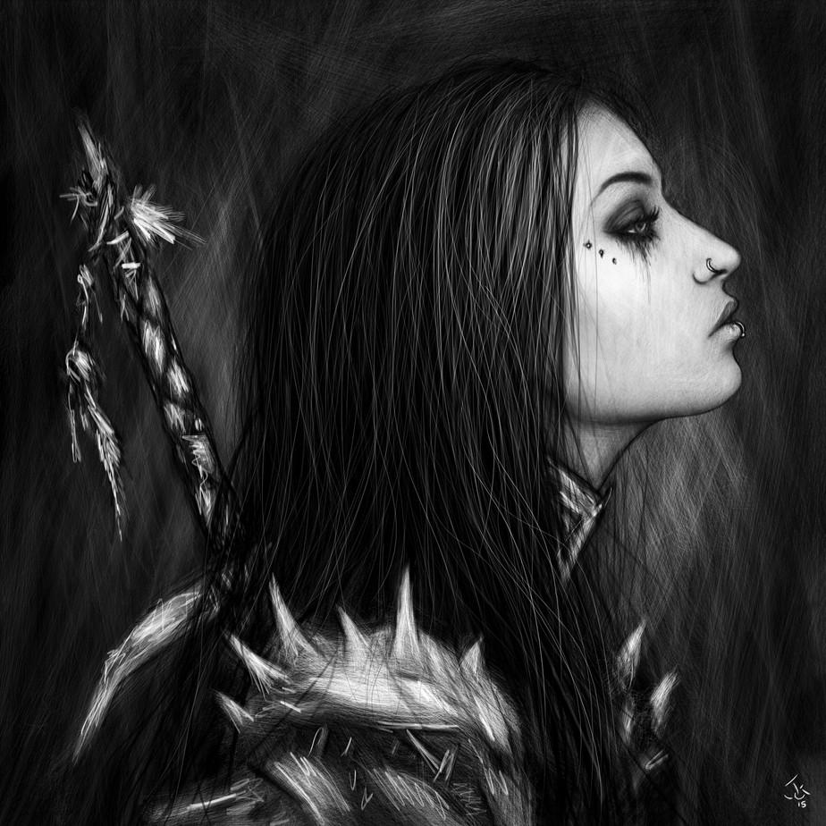 The Destroyer: A Gothic Portrait