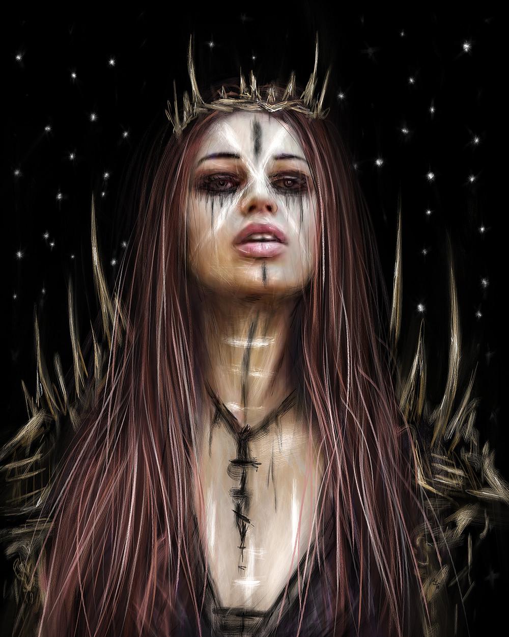 Gothic Fantasy Artwork by Justin Gedak