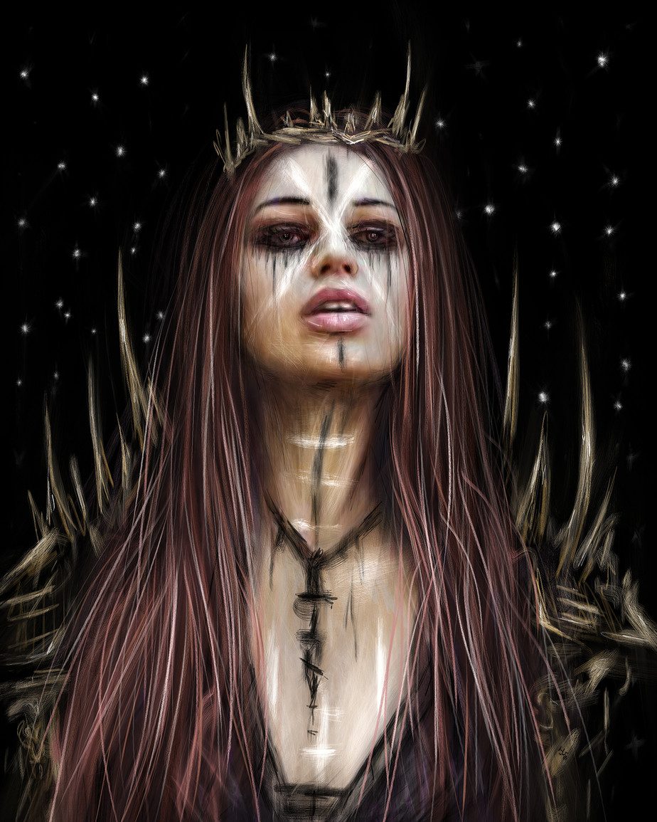 Against the Night: a Gothic Fantasy Portrait