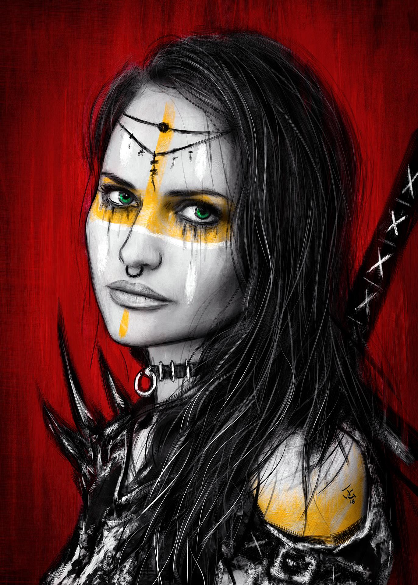 Barbaric Empress