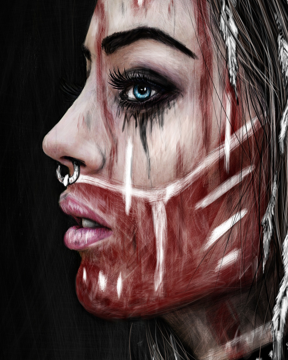 Alternative Girl Digital Art