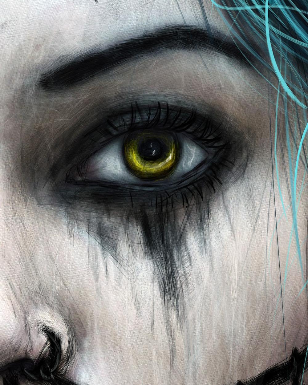 Vampire Eye Detail