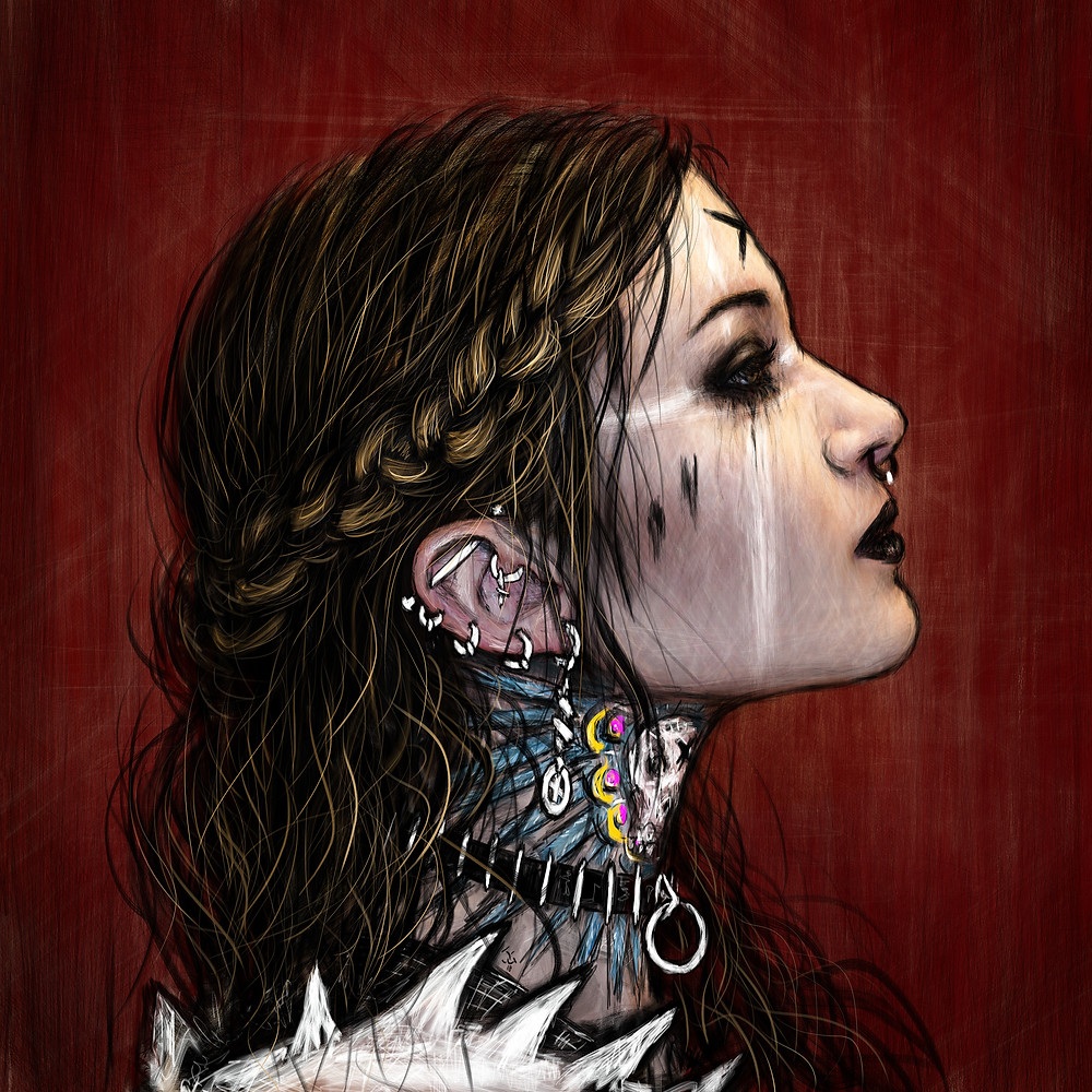 Gothic Shieldmaiden by Justin Gedak