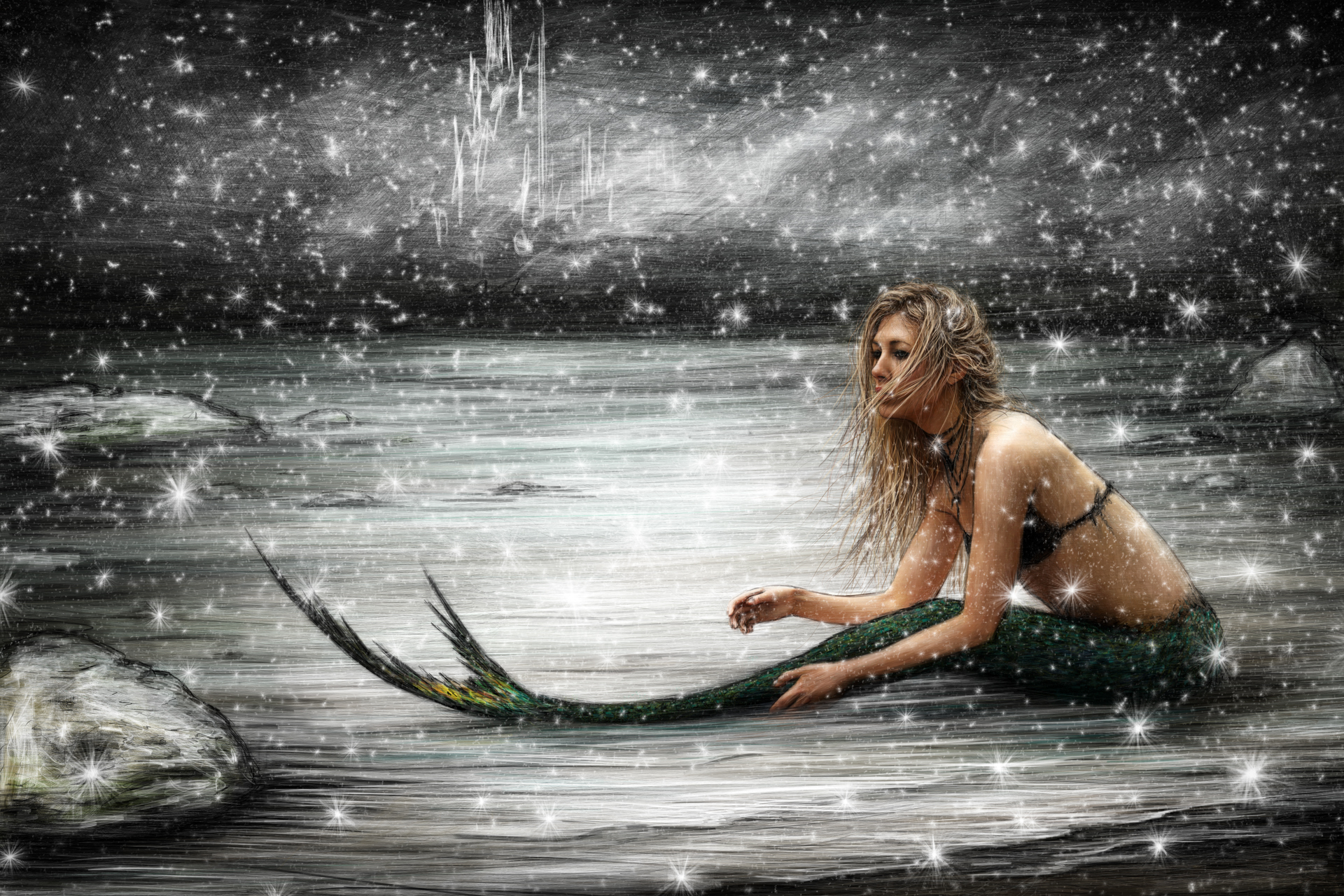 Winter Mermaid
