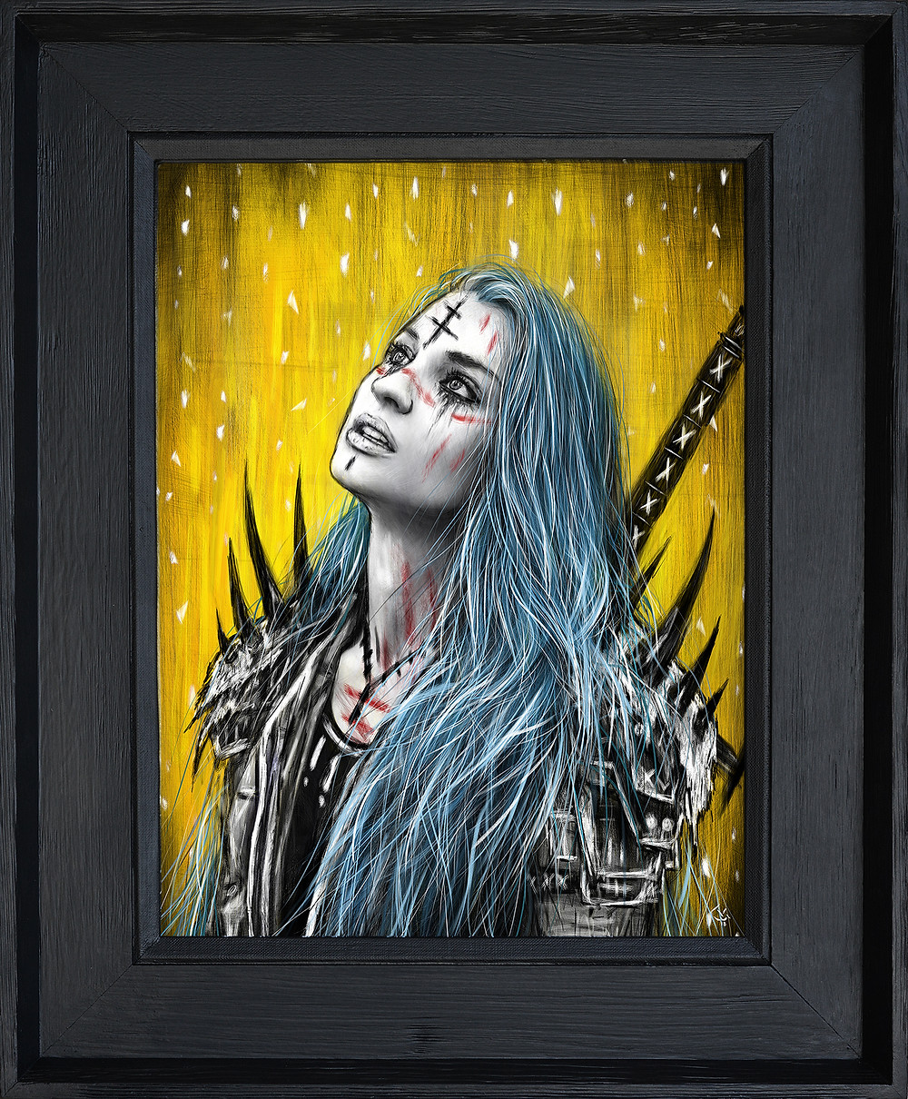 Gothic Fantasy Original Artwork by Justin Gedak