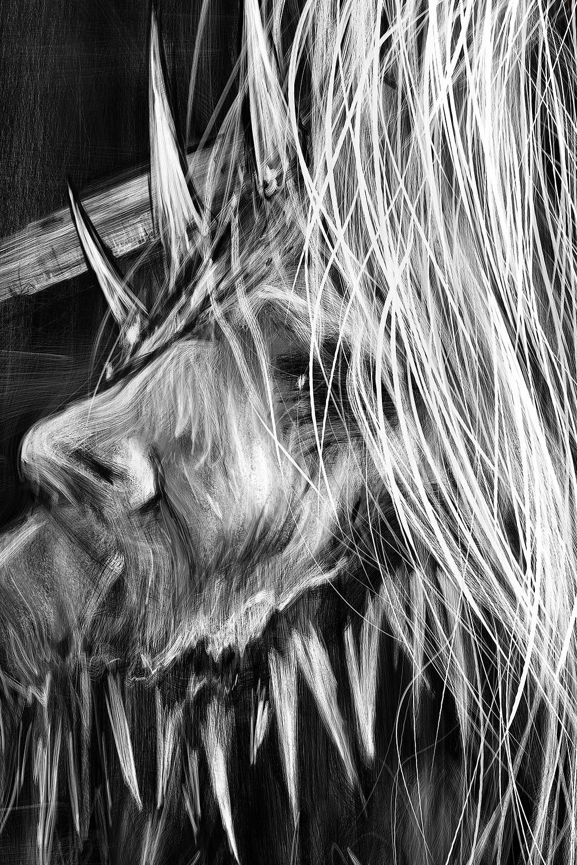 Dark art detail