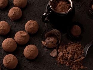 Joyeuses pâques avec des Truffes au chocolat maison !