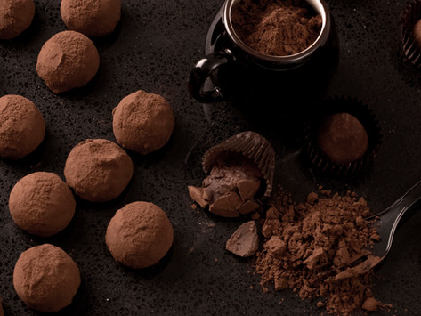 Valentine's Day Chocolate Truffles by Stacey Antine, MS, RDN