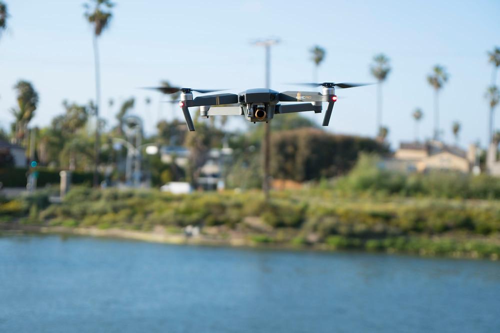 Polar Pro Filter on our DJI Mavic Pro Drone