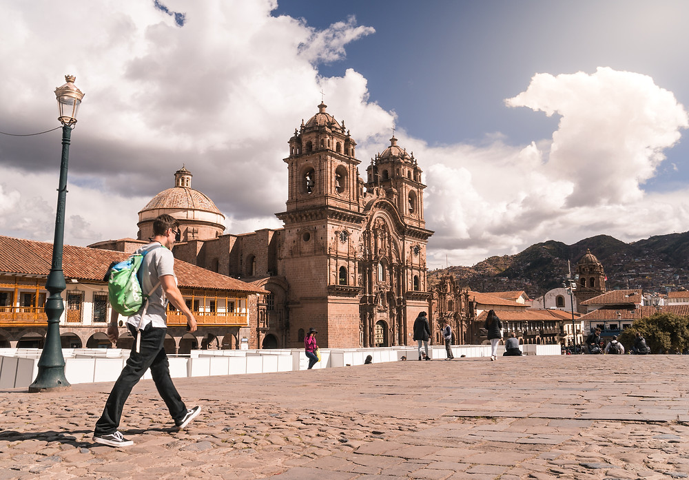 The Cusco Cathedral and City Square