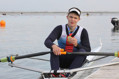 Золото на всероссийских соревнования по академической гребле