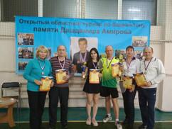 Открытый областной турнир по бадминтону, посвященный памяти Дашдамира Амирова!