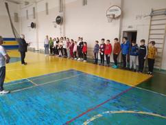 Отделение волейбола сдаёт нормы ВФСК ГТО