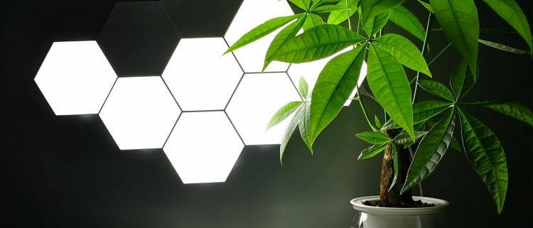 Touch Sensitive Light Modular Hexagon Panel Lamp ( Set of 6 tiles)