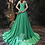 Thumbnail: Simple Aline Satin Long Evening Dress/ Prom gown by Ivory Bliss