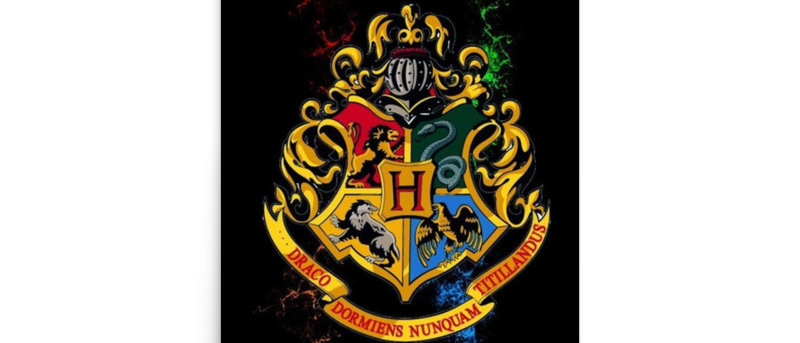 Hogwarts Houses Harry Potter  Poster A4 and A3 size wall  posters Hogwarts prin