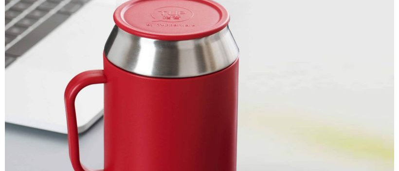 Desk Coffee Tea MUG 400 ML RED