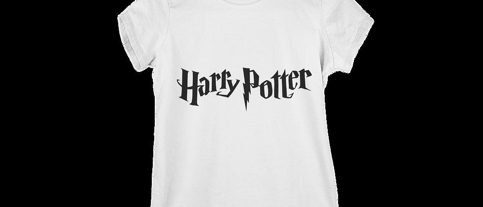 Harry Potter White Women's cotton T- shirt