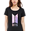 Thumbnail: BTS Logo ARMY K- pop print Women's cotton T- shirt