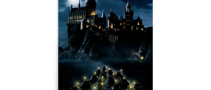 Hogwarts Harry Potter  Poster A4 and A3 size wall  posters Hogwarts print