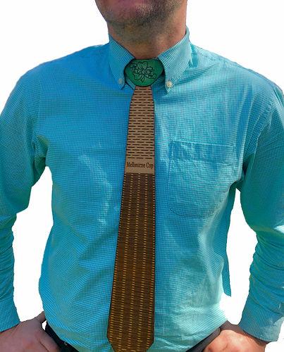 wooden tie model