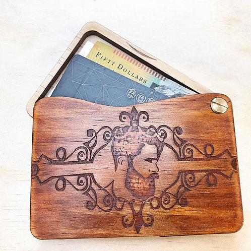 Wooden Man's Wallet