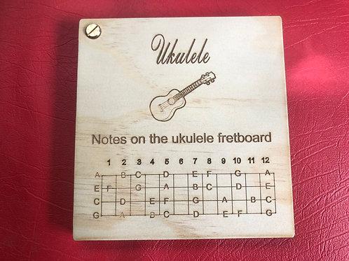 Wooden Ukulele book