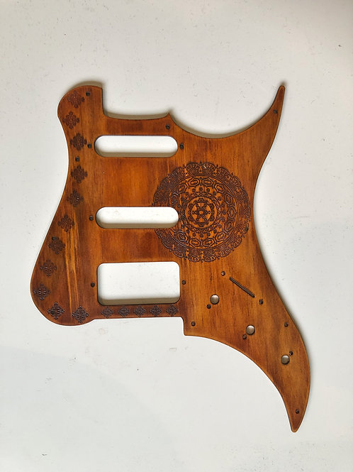 Wooden Pickguard ST Style