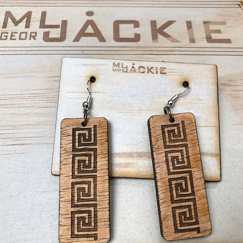 Wooden Earring WE15