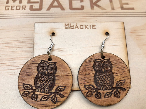 Wooden Earring WE22