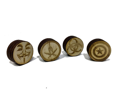 Custom Guitar Knobs
