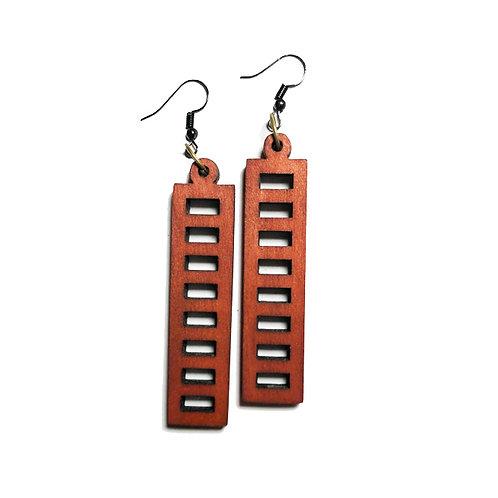 Wooden Earring -