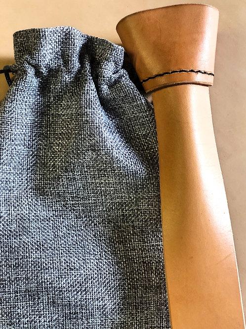 Natural Veg Tan Tie
