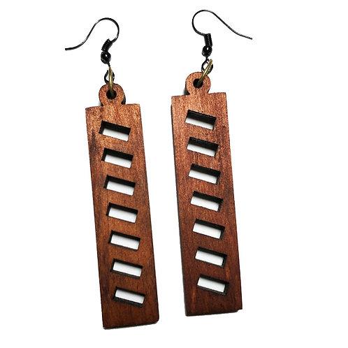 Wooden Earring /